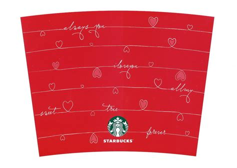 starbucks create your own tumbler valentins kubek