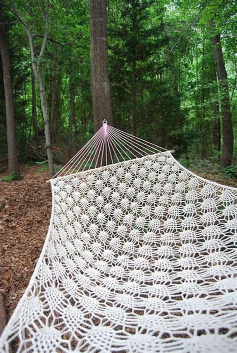 how to knit a hammock how to make a crocheted hammock the owner builder network
