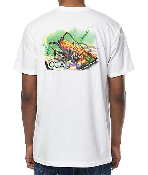 Florida White Shirt local florida lobster white t shirt at zumiez pdp