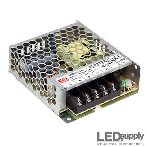 lrs well enclosed switching power supplies