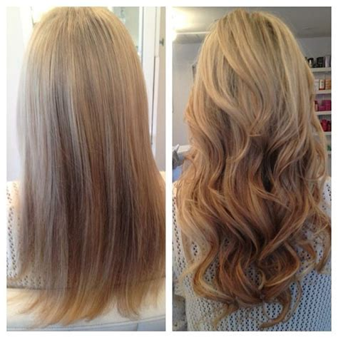 hairstyles after extensions autumnhoustonthesalon before after hair extensions b