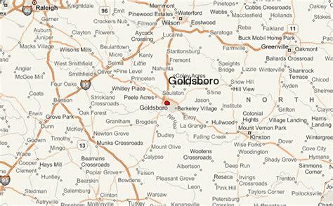 goldsboro carolina map goldsboro location guide