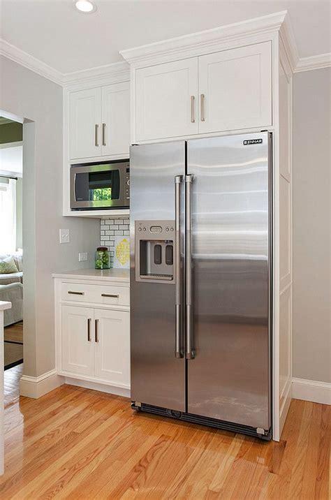 best cabinet refrigerator best 25 refrigerator cabinet ideas on spice