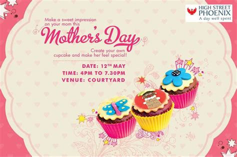 s day concerts you are the frosting to my cupcake mothers day