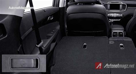 Kia Sorento Rear Seats Fold Kia Sorento Folding Seat Luggage Space
