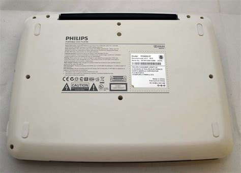 philips pd9000 37 9 quot lcd widescreen portable dvd player