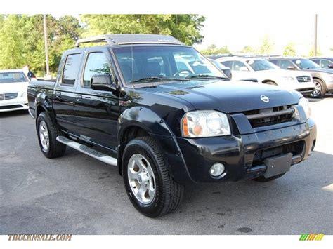 2002 nissan frontier 2002 nissan frontier sc crew cab 4x4 in super black