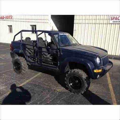 jeep wrangler beach buggy buy used 2002 jeep liberty rock crawler wrangler dune