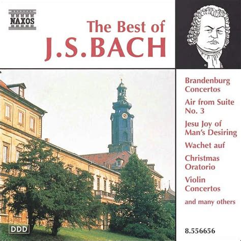 the best of bach the best of bach naxos 730099665629 cd barnes noble 174