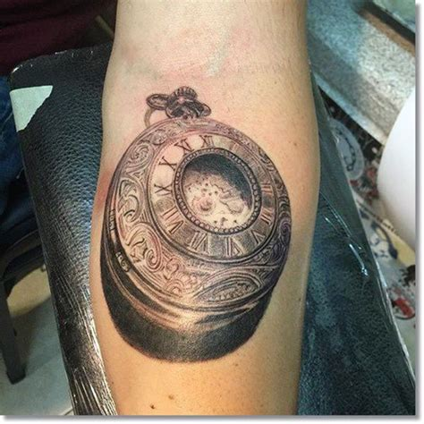 tattoo of us watch series 110 cool pocket watch tattoos that are totally badass