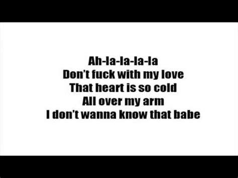 ed sheeran don t ed sheeran quot don t quot lyrics on screen youtube