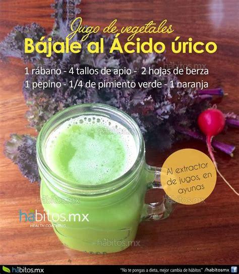 alimentos que reducen el acido urico ideas tips recetas es jugo o