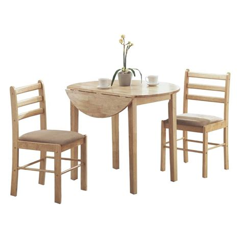 Dining Set With Leaf 3 Drop Leaf Dinette Set In I 1006