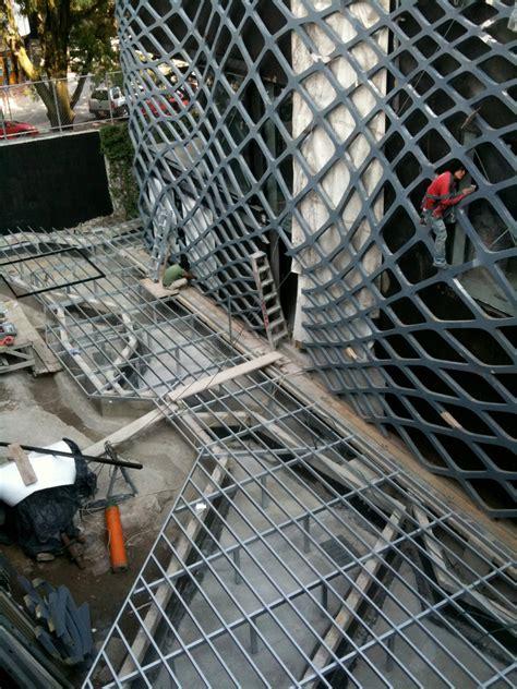 designboom rojkind rojkind arquitectos tori tori restaurant construction