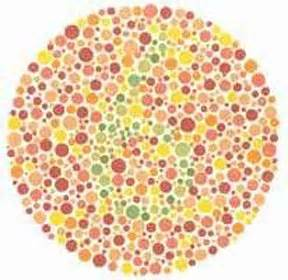 total color blindness vision test 1 are you colorblind green
