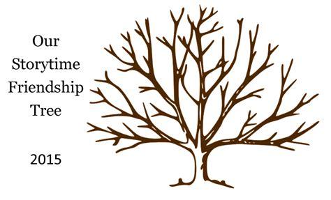 friendship tree template preschool handprint friendship tree preschool t