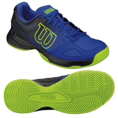 Kaos Blue wilson kaos comp junior tennis shoes blue black just