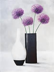 vase mit blumen a s vase mit blumen original auf leinwand 80 x 60 cm