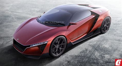 Future Honda Cars Future Cars Honda S Baby Nsx Could Go Porsche Cayman