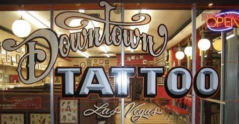 tattoo shops downtown got an inkling for a in vegas las vegas blogs