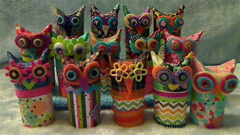 How To Make Owls Out Of Toilet Paper Rolls - how to make owls from toilet paper rolls