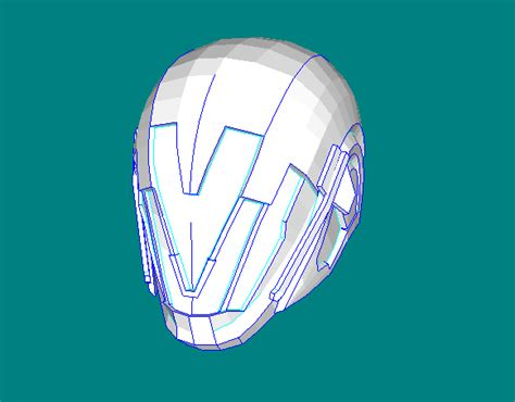 paper helmet template papercraftsquare new paper craft destiny nerigal