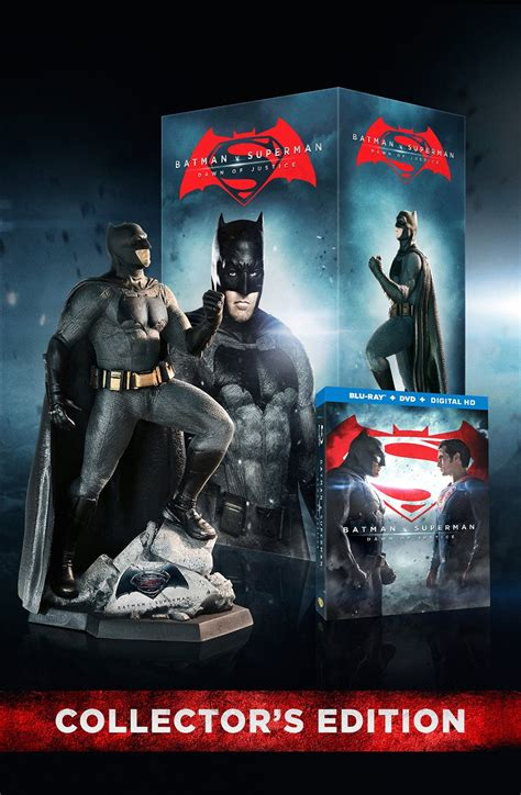 Kaos 3d Of Steel Limited Edition batman v superman collector s edition on