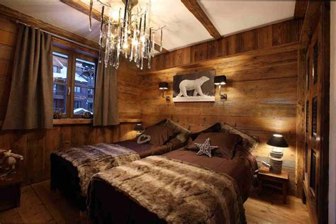 chambre style chambre deco idee deco chambre style chalet