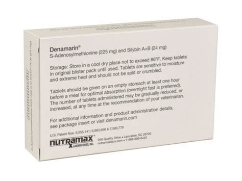 denamarin for medium dogs denamarin for medium dogs 13 to 34 lbs 30 tabs