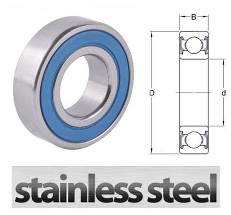 6001 2rs C3 6001 2rsr C3 Bearing w6001 2rs stainless steel sealed groove bearing