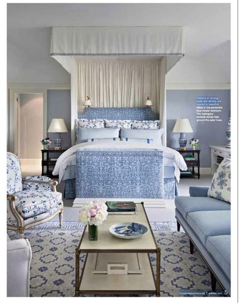 Bedroom Designs In Blue And White Hton Blue White Bedrooms And Inspiration On