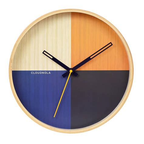 wooden wall clock blue flor wooden wall clock modern wall clocks