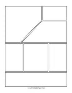 Graphic Novel Template by Graphic Organizers On Graphic Organizers