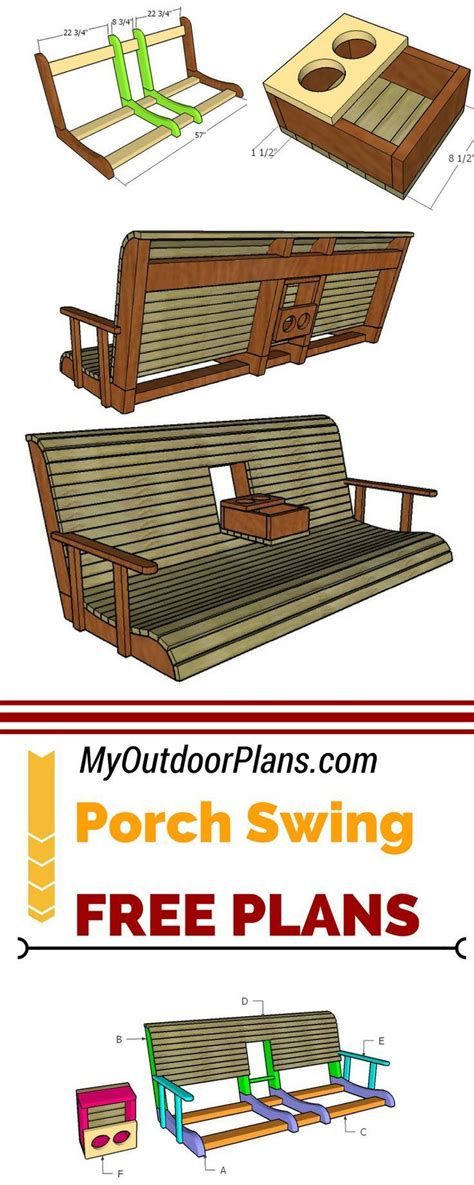 learn   build  porch swing  center console