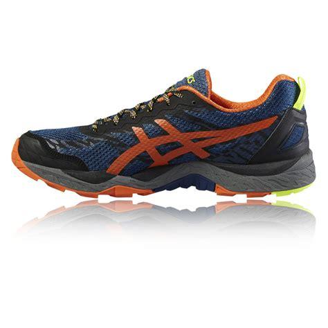 asics orange running shoes shoes asics gel fujitrabuco 5 running shoes aw16