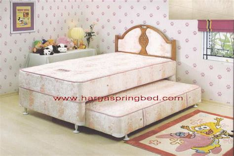 Springbed 2in1 Central Deluxe Florida 120x200 bed central central springbed harga central