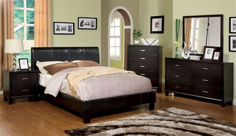 euro platform bed queen villa park espresso leather platform bed euro