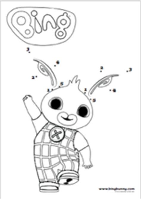 bing bunny coloring page bing activities bing bunny