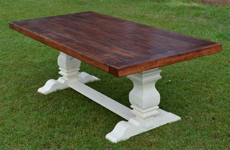 White Wood Dining Room Table 17 elegant classic trestle tables
