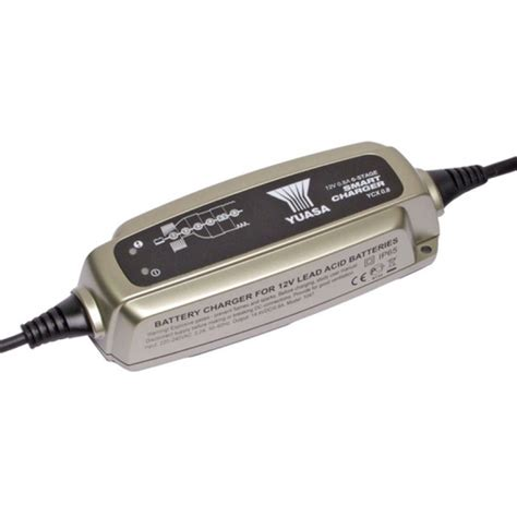 smart charger 12v yuasa battery smart charger 12v 0 8a 6 stage