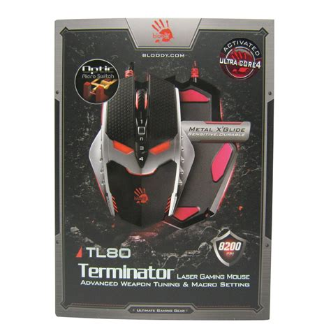 Mouse Macro Tl80a Bloody mouse gaming tl80a terminator bloody microplay