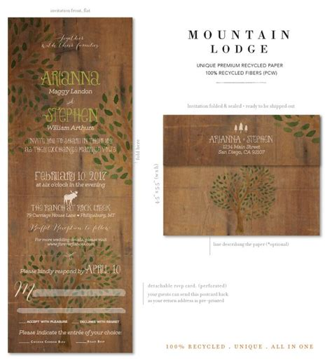 rustic send and seal wedding invitations 17 best images about rustic send n seal invitations on