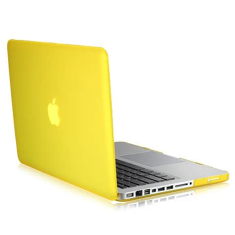4 in1 rubberized yellow for macbook pro 13 quot keyboard cover lcd screen bag ebay