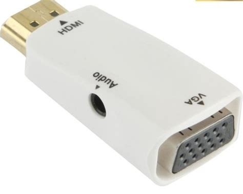 Jual Kabel Vga To Hdmi Surabaya jual gadget adapter hdmi ke vga audio adapter