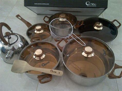 Oxone Set 933 diskon panci set oxone eco cook ware set terlaris ox 933 murah