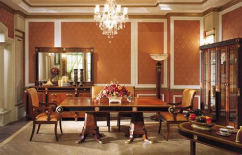 empire dining room  neoclassic styletop