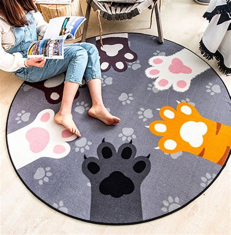 paw rug cats paw rug rugs ideas