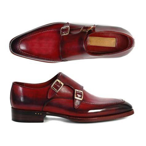 paul parkman shoes paul parkman monk shoes bordeaux black