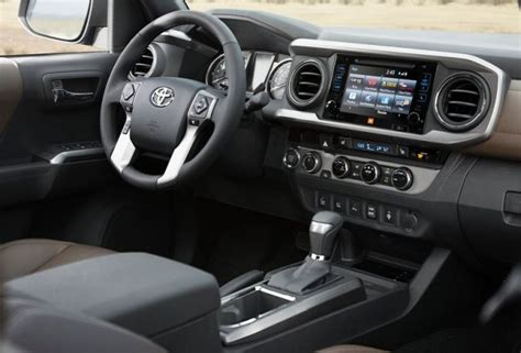 Tacoma 2016 Interior by 2016 Toyota Tacoma News And Engines Diesel Changes