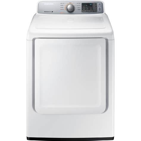 samsung 7 4 cu ft front load electric dryer white ebay
